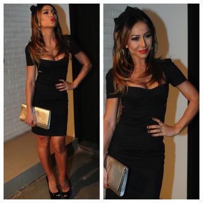 Sabrina Sato de pretinho Dolce & Gabbana