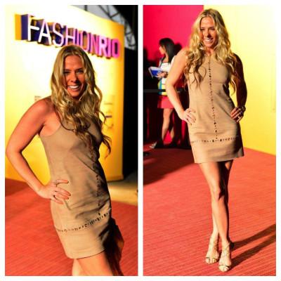 Adriane Galisteu vai de Iódice ao Fashion Rio