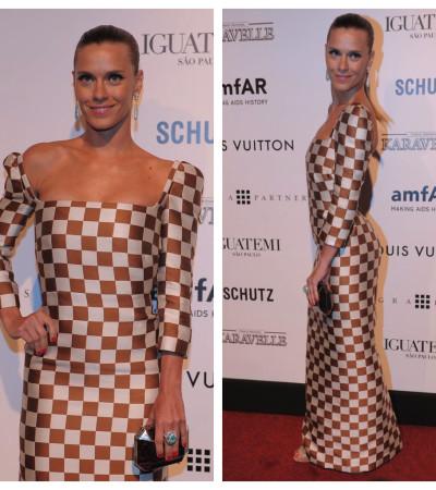 Carolina Dieckmann usa Louis Vuitton