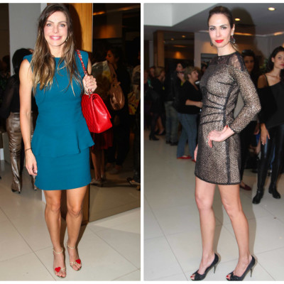 Daniella Cicarelli e Luciana Gimenez de Lu Monteiro