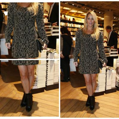 Danielle Winits de vestido Guipire