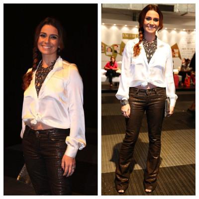 Giovanna Antonelli mostra barriga em look Iódice