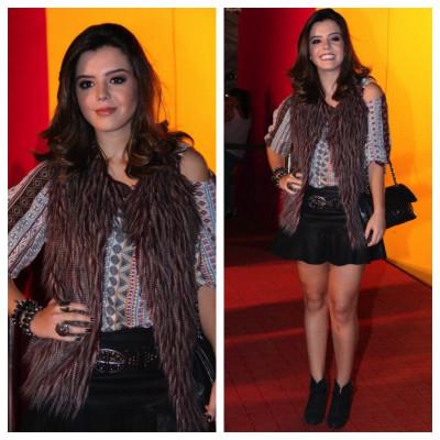 Giovanna Lancellotti vai de Espaço Fashion ao Fashion Rio