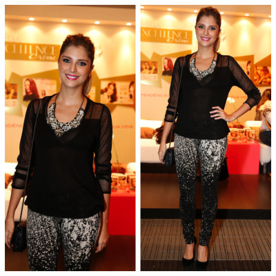 Tammy Di Calafiori de look Espaço Fashion