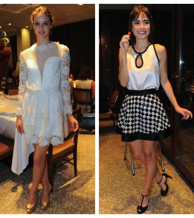 Maria Casadevall e Laura Neiva usam Lu Monteiro