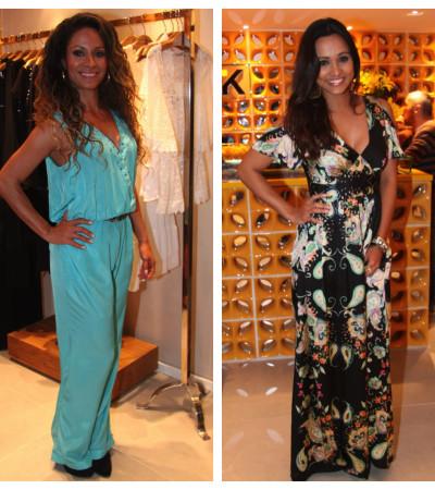 Cinara Leal e Thaíssa Carvalho vestem Karamello