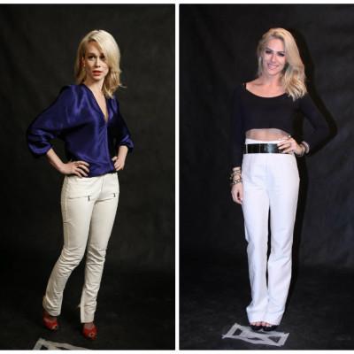 Elas amam calça branca. Copie o look de três famosas