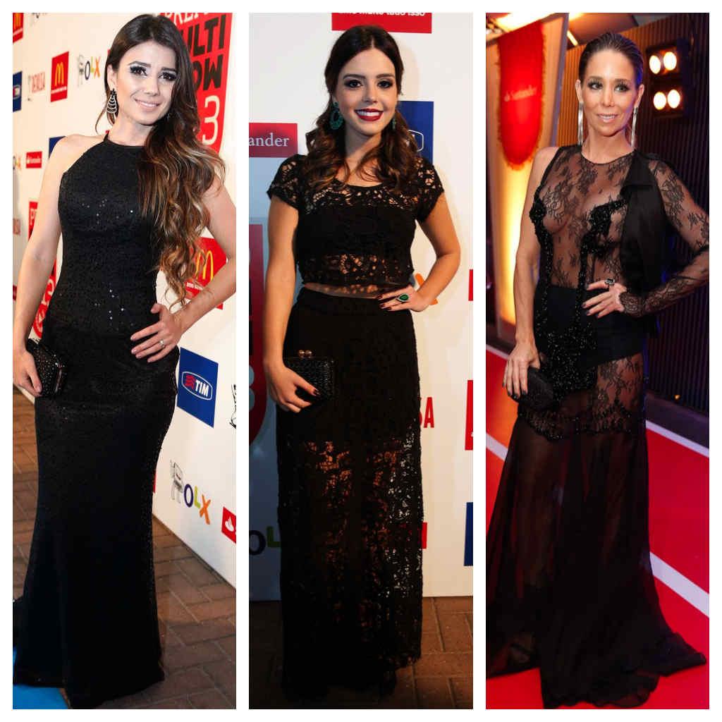 Vote na mais bem vestida do Prêmio Multishow 2013