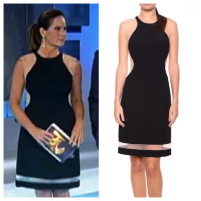 Vestido preto de Renata Ceribelli é o mais pedido da Globo