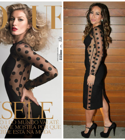 Sabrina Sato veste famoso vestido de Stella McCartney