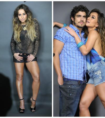 Sabrina Sato estrela campanha de jeans com Caio Castro e lança linha fitness