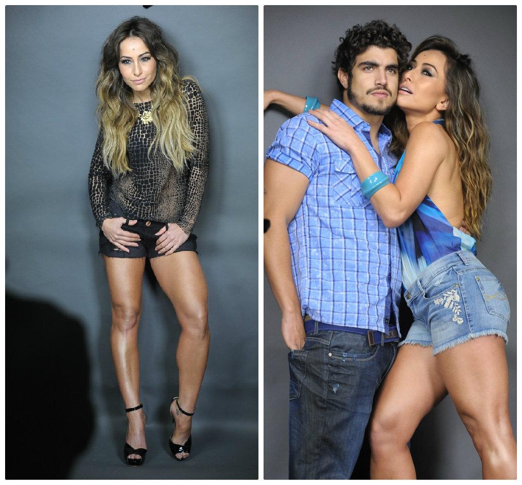 357012e2bec64 Sabrina Sato estrela campanha de jeans com Caio Castro e lança linha  fitness - Elas no Tapete Vermelho
