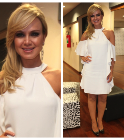 Eliana vai de vestido branco NKStore