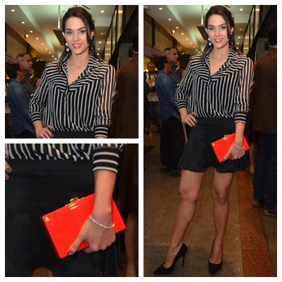 Fernanda Machado usa Espaço Fashion