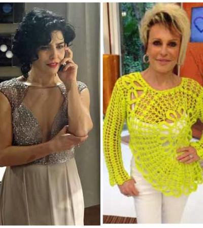 Blusa amarela da Ana Maria Braga é a mais pedida da 'Globo'