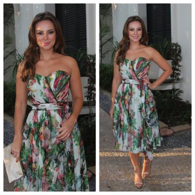 Paolla Oliveira usa Dolce & Gabbana