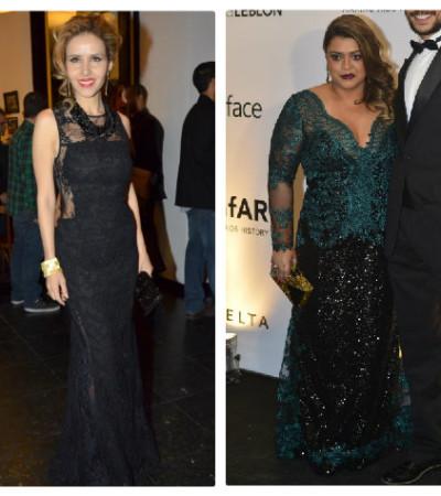 Preta Gil e outras famosas amam vestido de renda
