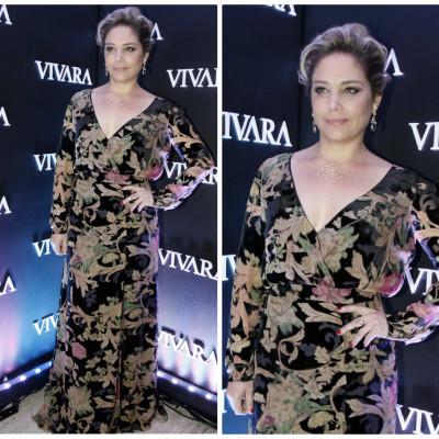 Heloísa Perissé veste Trinitá em festa de lançamento da Vivara