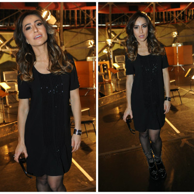 Sabrina Sato usa vestido Alexandre Herchcovitch