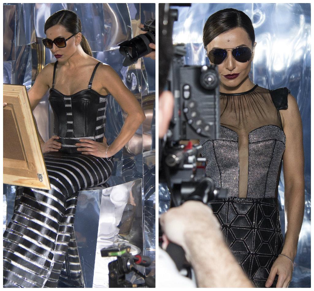 """366f00c448749 Sabrina Sato posa para campanha de óculos da IT!Eyewear. É ela quem assina  a primeira coleção da nova marca. Com o tema """"Espelho"""