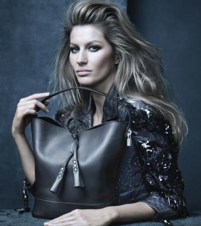 Gisele Bündchen posa para Louis Vuitton