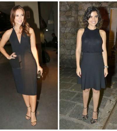 Qual famosa ficou melhor de look preto?