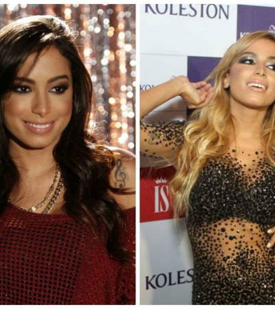 Anitta muda visual e fica loira