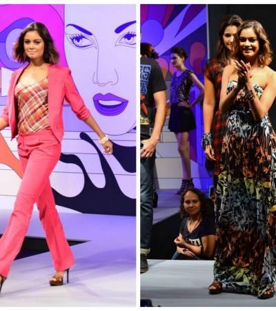 Sophie Charlotte desfila em evento do Mega Polo Moda
