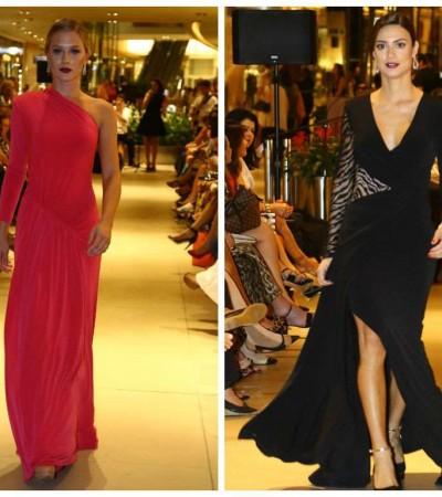Fiorella Mattheis e Thaila Ayala desfilam para Fabric & Co