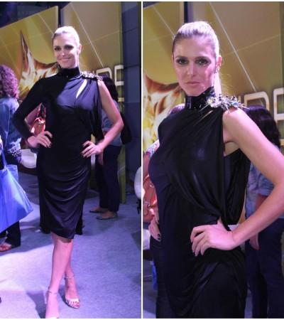 Fernanda Lima de Versace e Alexandre Birman