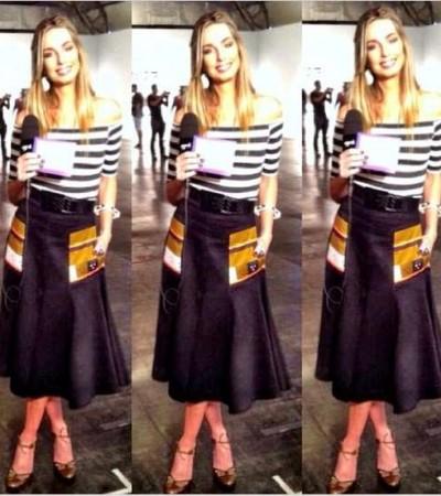 Mariana Weickert de Espaço Fashion