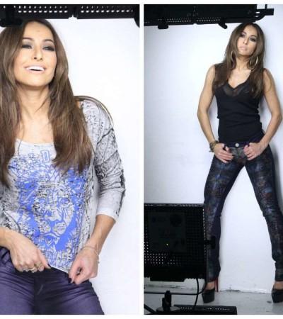 Sabrina Sato posa para Sawary Jeans
