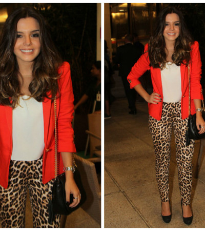 Copie o look de Giovanna Lancellotti