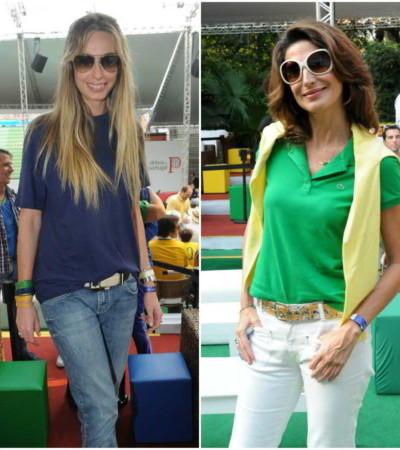 Copa: Mariana Weickert e Jacque Dalabona na torcida pelo Brasil