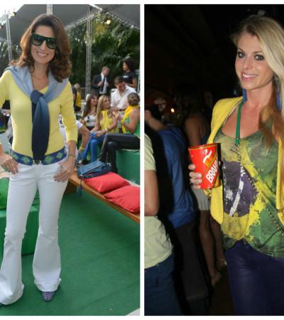 Copa: Inspire-se nos looks de Jacque Dalabona e Carol Bittencourt na torcida pelo Brasil