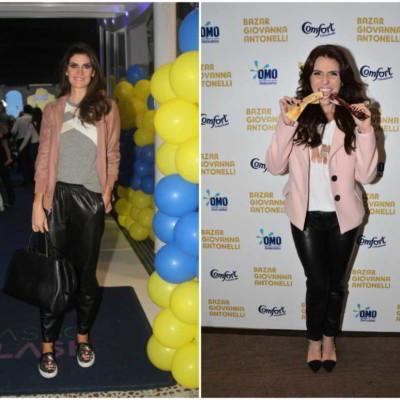 Jaqueta e blazer rosa: a aposta das celebridades