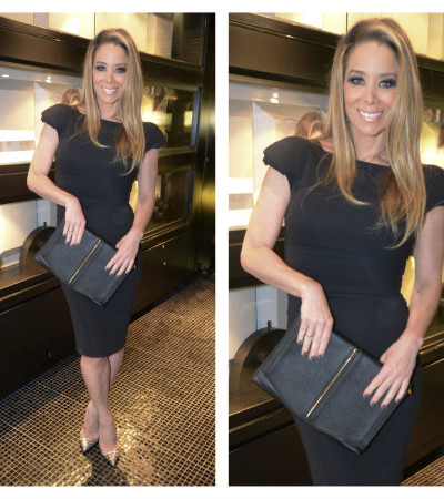 Danielle Winits de vestido Elie Saab