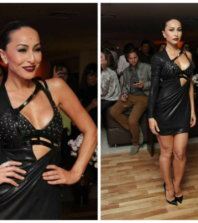 Sabrina Sato abusa do Versace supersensual