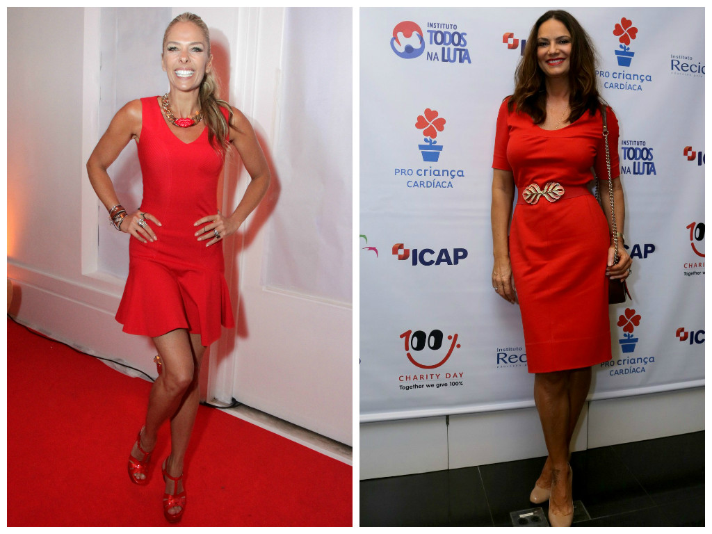 Especial de Natal: Elas amam vestido vermelho - Elas no
