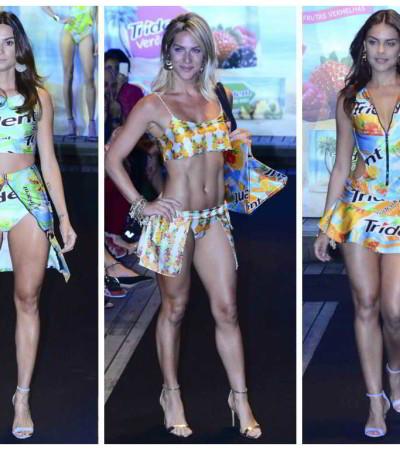 Thaila Ayala, Giovanna Ewbank e Paloma Bernardi desfilam para Cia.Marítima
