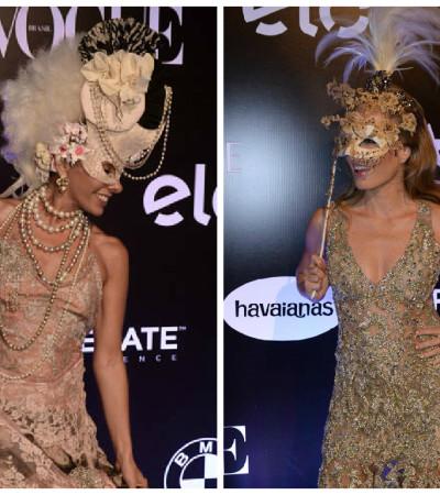 Elas amam incrementar looks de Carnaval com acessórios