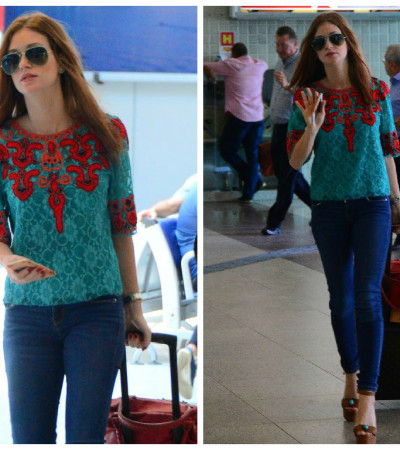 Copie o look de Marina Ruy Barbosa