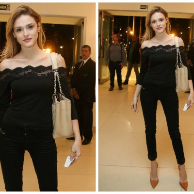 Copie o look de Isabelle Drummond