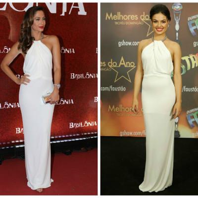 Camila Pitanga e Isis Valverde amam vestido Gucci