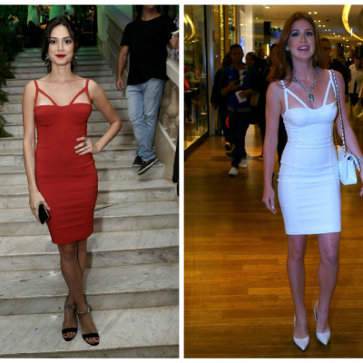 Thaila Ayala e Marina Ruy Barbosa amam vestido Agilità