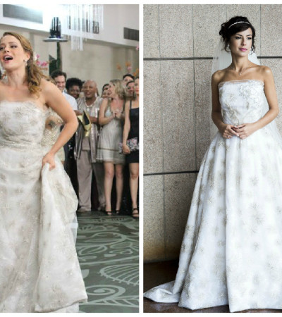 Quem ficou melhor com vestido de noiva Lethicia Bronstein em 'Império'?