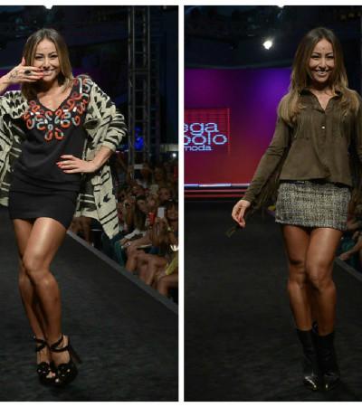 Sabrina Sato desfila no Mega Polo Moda