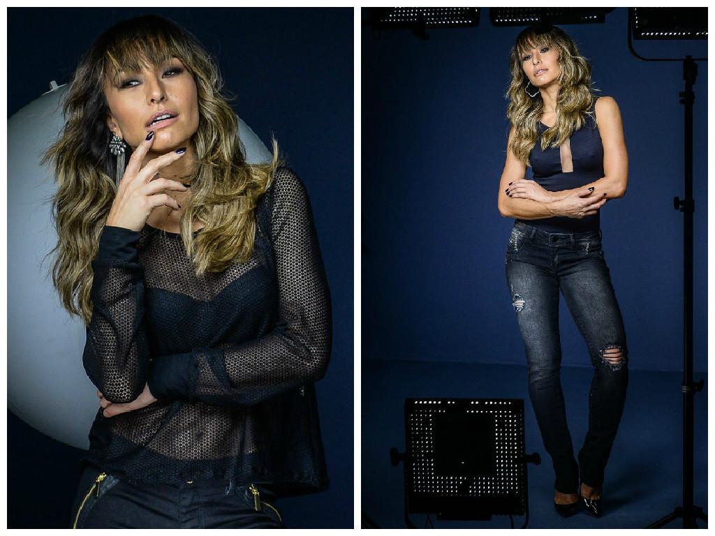 Sabrina Sato estrela a campanha outono-inverno 2015 da Sawary Jeans. Posou  para o fotógrafo André Schiliró com looks jeans variados, incluindo calça,  short, ... b3ff88c758