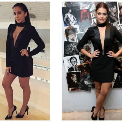 Quem ficou mais bonita com vestido Vitor Zerbinato: Anitta ou Paloma Bernardi?