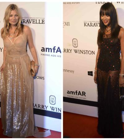 Qual é a famosa mais bem vestida do baile de gala da amfAR?